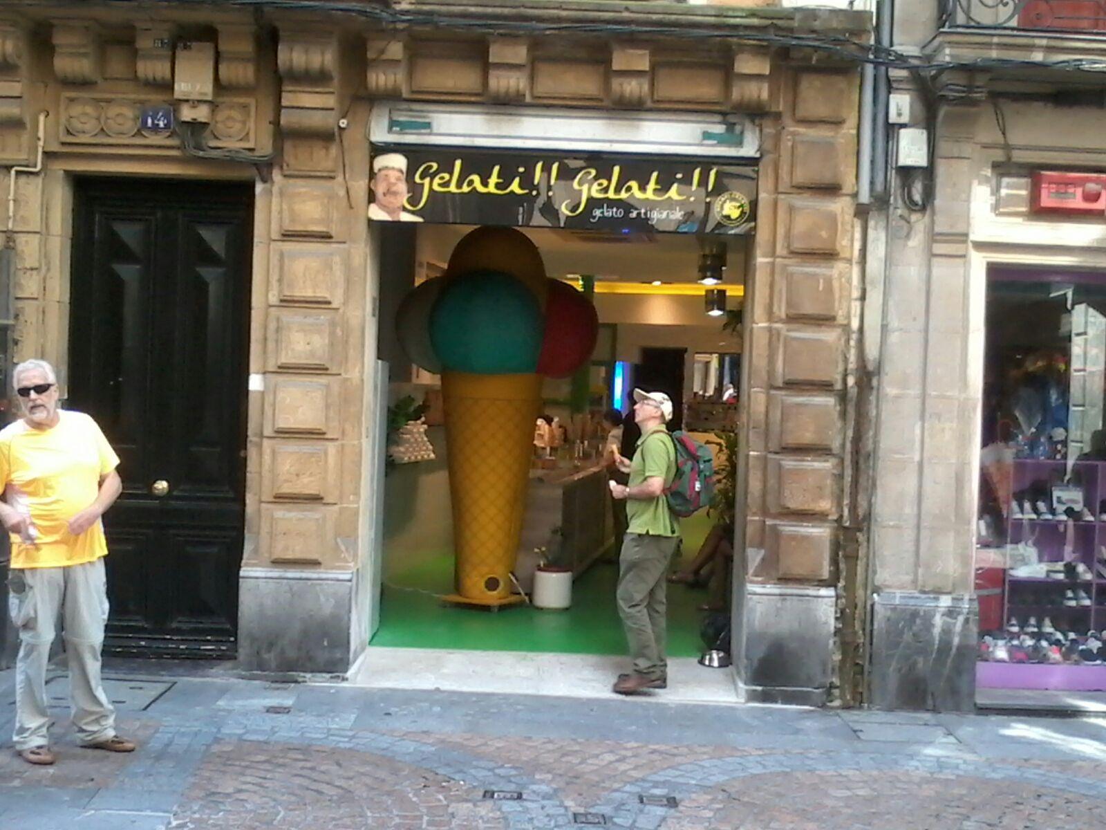 e9f16ac0f9e95 Nueva heladería Gelati Gelati (Diego Guglielmi-Bilbao Bizkaia Slow ...